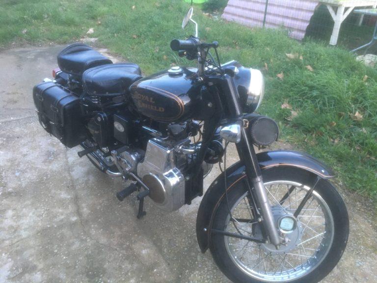 Royal Enfield de 1961 diésel...
